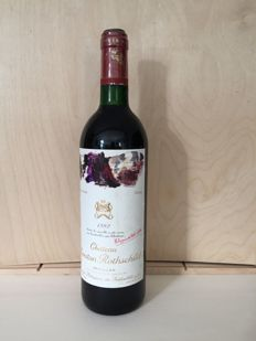 1992 Mouton Rothschild, Pauillac - 1 bottle (75cl)