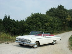 Chevrolet - Impala - coupè convertibile V8 283 - 1962