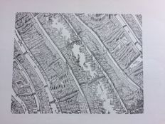 Amsterdam; Lot with 5 cartographic publications - 1948/2013