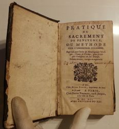 Anonymous - Pratique du Sacrement de Penitence ou Methode pour l'Administrer Utilement - 1691