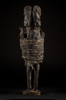 Large marriage Voodoo Fetish - FON / EWE - Benin