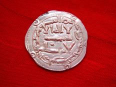 Spain - Emirate of Cordoba - al-Hakam I, silver dirham minted in Al-Andalus - Cordoba in the year 808 A.D  (193 A.H.)