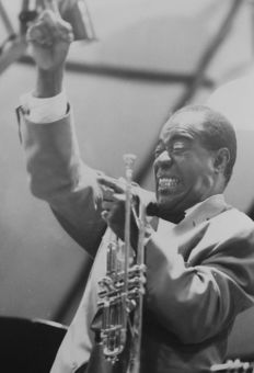 Robert Cohen and others - Louis Armstrong, 1970s