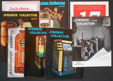 8 editions of Jukebox Collector Magazine - 1994 / 1995