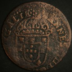 Portugal Monarchy - João IV (1640-1656) - 1 ½ Real - copper