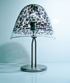 La Murrina Murano - lamp with murrine, from the 1980s (43 cm)