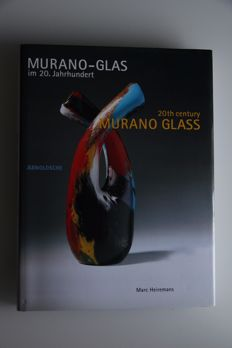 Marc Heiremans - Book '20th Century Murano Glass'