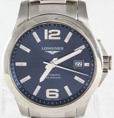 Longines Conquest L3.676.4  --  Swiss Chronometer  --  Modern