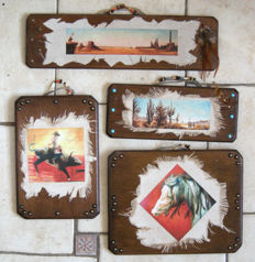 Handcraft - 4 country collector's items by Isabel Mahe