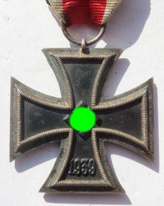 German original iron cross with Ribbon - WW2