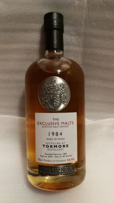 Tormore 1984, 30 years old, cask strength, 54,9%