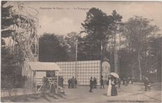 Great batch of 100 old postcards of the exhibition of Nancy in 1909