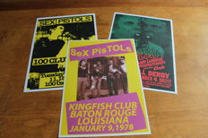 Sex Pistols  - Set of 3 Concert Posters