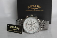 Rotary Chronograph men's wristwatch - mint condition, 2017