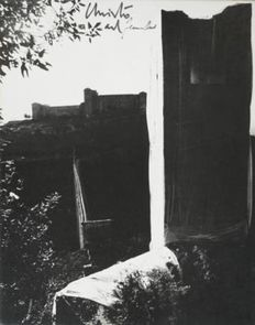 Christo - Packed Tower, Spoleto, 1968