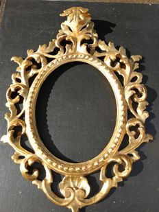 Carved and gilded wood frame - Italy - second half of the 19th century