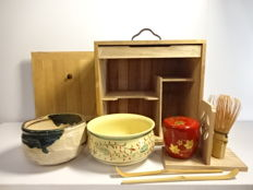 Tea ceremony set - Japan - Late 20th century