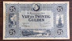 Netherlands - 25 guilders 1927 - William of Orange - mevius 74-1