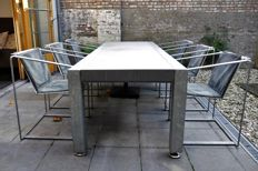 Willem Lenssinck for LSD - The Living Table + Chairs (Outdoor)