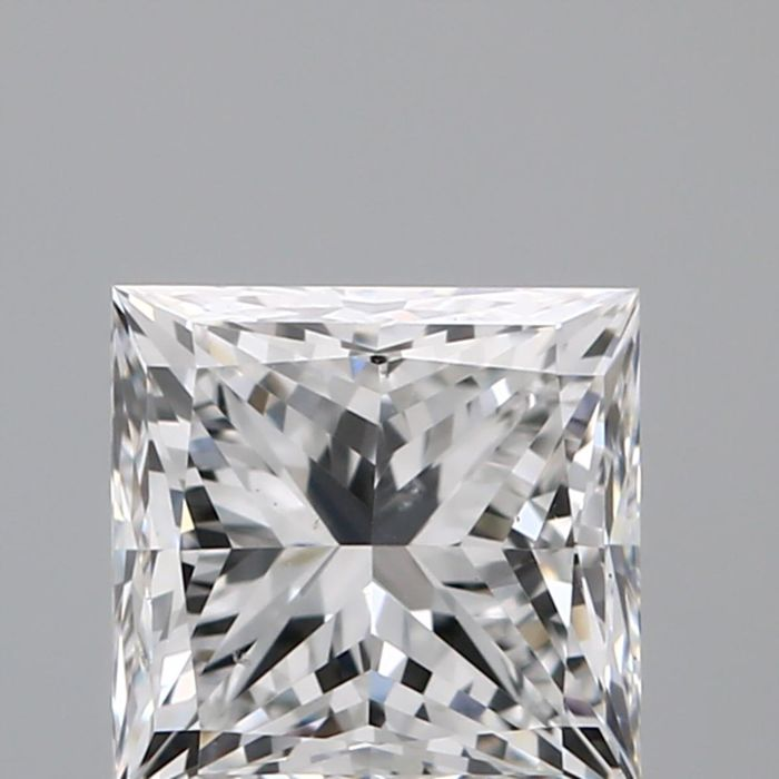 1.02ct  Princess Brilliant  F VS2   GIA-#2314-original image -10x