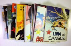 Il Piccolo ranger - 12x albums between issue no. 97 and issue no. 131 (1971-74)
