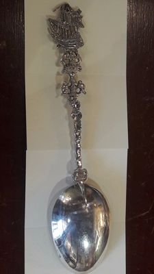 Silver Ceremony Spoon, Germany 19th century