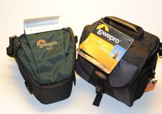 2 new Lowepro bags EX140 + TLZ 1