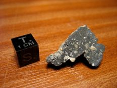 Lunar Meteorite (official) NWA 11212 with original signed certificate - 4.15gm
