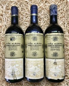 1965 Viña Albina Old Reserve - 3 Bottles (0,75cl)