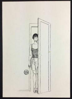 "Crepax, Guido - Original illustrations for the door catalogue ""Dilà"" (2000)"