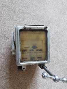 Vintage taxi meter pounds/shilling/pence