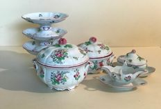 Luneville, Keller and Guerrin part of service with Chinese design early 20th century