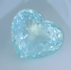 """ Neon Greenish Blue "" Paraiba Tourmaline - 27.03 ct"