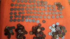 Kingdom of Italy, lot of 231 coins from Vittorio Emanuele III period