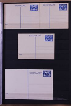 The Netherlands 1890/1990 - Batch  of 310 postcards and change of address cards in a stock book