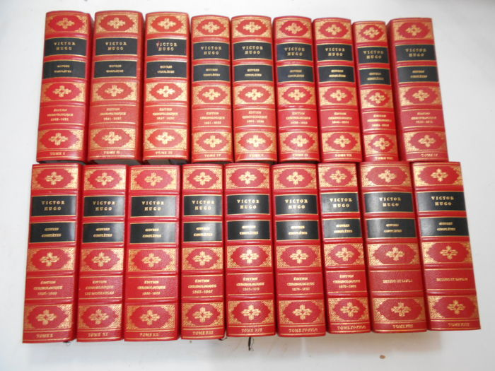 Victor Hugo Oeuvres Completes 18 Volumes 1968 1970