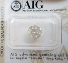 2.50 ct - Natural Diamond  F Color, I-3 - NO RESERVE