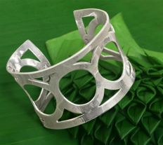 Solid Silver 925 Design Bracelet -  Weight 59,20