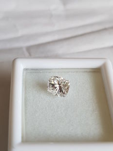 1.01 ct. E VVS2 Cushion diamond with Certificate IGL Report: 980270 - LOW RESERVE.