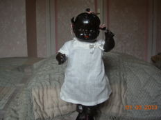 Black baby 27 cm English- or American-made