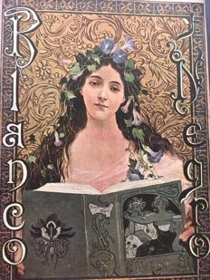 Art Nouveau; Lot with 6 issues of Blanco y Negro + 1 issue of Fantasio - 1901 / 1924