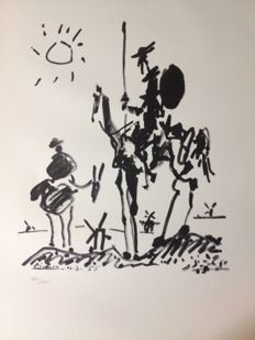 Pablo Picasso (after) - Don Quichotte
