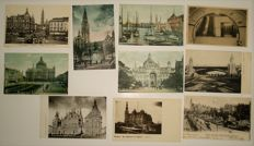 Antwerp - set of 120 old views of the city and harbour - 1900/1935