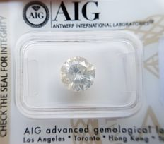 2.28 ct - Natural Diamond  G Color, I-2  -  NO RESERVE