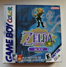 Game boy color game Zelda oracle of ages