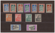 Italy, Kingdom 1928 - 400 Years from the birth of Emanuele Filiberto - Sass.  No.  226/238
