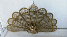 Old classic Fan Fireplace screen France, 1st part 20th century