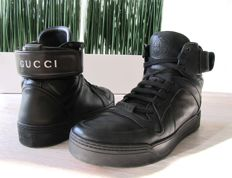 Gucci - Leather High-Top Sneaker