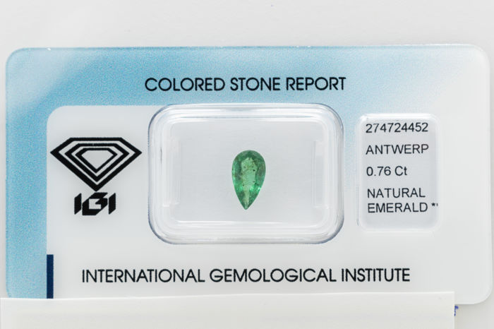 Emerald - 0.76 ct   *** No Reserve ***