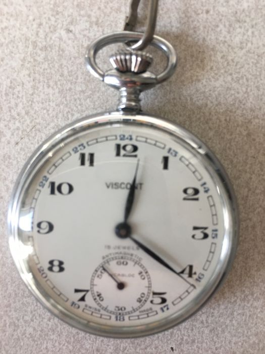 Viscont pocket watch